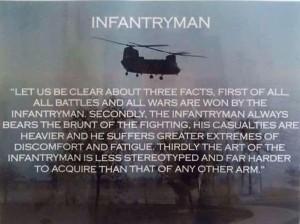 Infantryman Poem